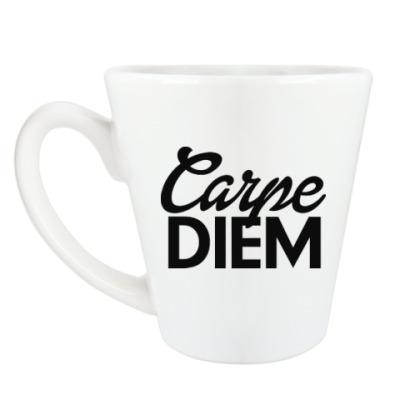 Чашка Латте Carpe Diem Живи настоящим