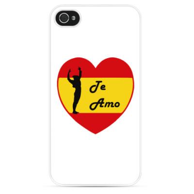 Чехол для iPhone Я люблю тебя по-испански