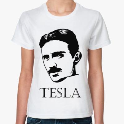 Классическая футболка Tesla