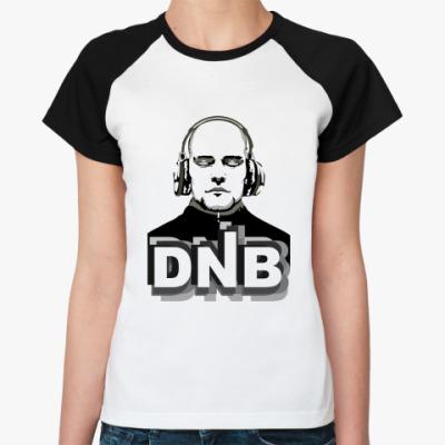 Женская футболка реглан DnB