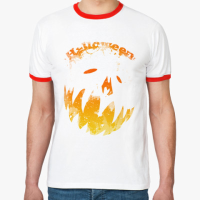Футболка Ringer-T Helloween