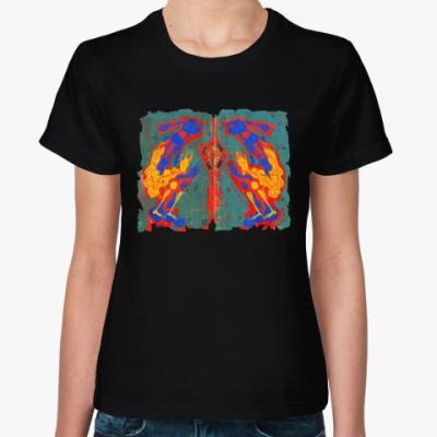 Женская футболка Рождение Зодиакальной Головоломки