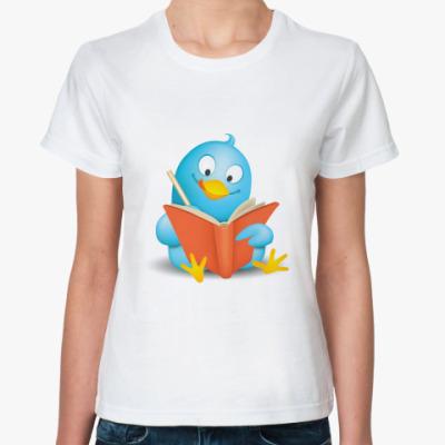 Классическая футболка  Twitter