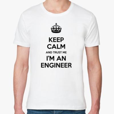 Футболка из органик-хлопка Я инженер!