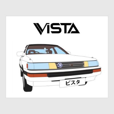 Постер TOYOTA Vista V2