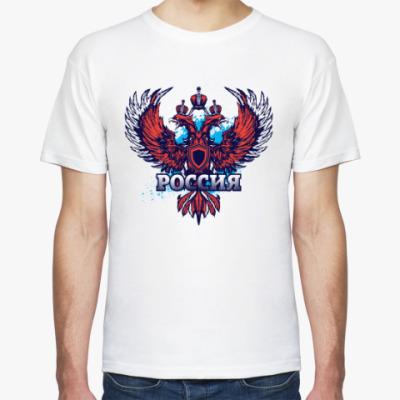 Футболка Стилизованный герб России
