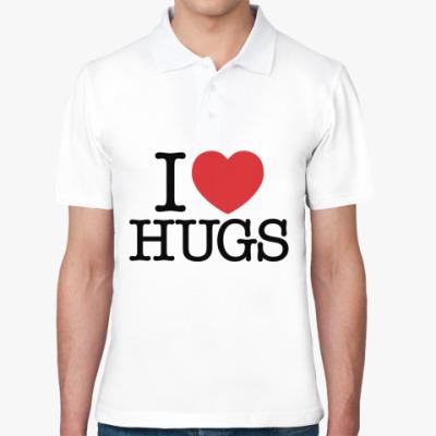 Рубашка поло I love HUGS