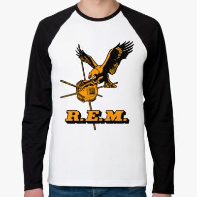 Футболка реглан с длинным рукавом R.E.M.