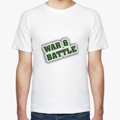 Футболка WAR&BATTLE