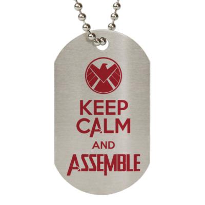 Жетон dog-tag Avengers Assemble