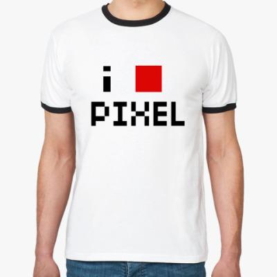 Футболка Ringer-T pixel