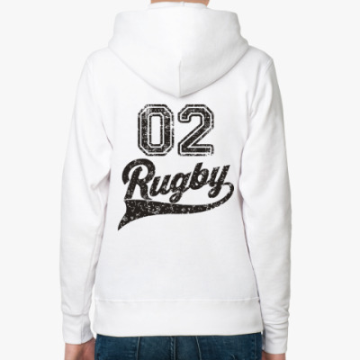 Женская толстовка худи Регби Rugby