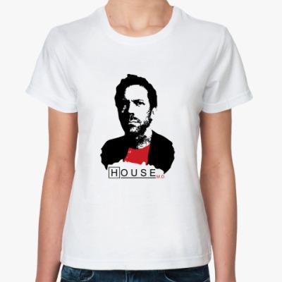 Классическая футболка House leader