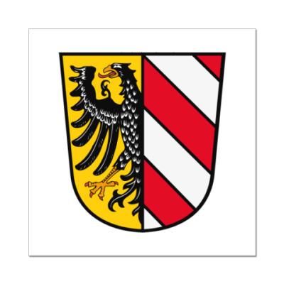 Наклейка (стикер)  Нюрнберг
