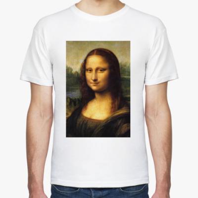 Футболка Мона Лиза Джоконда