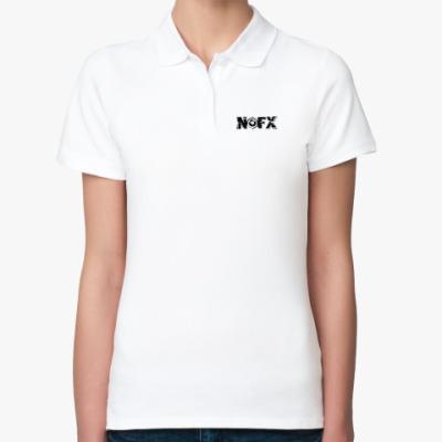 Женская рубашка поло NOFX