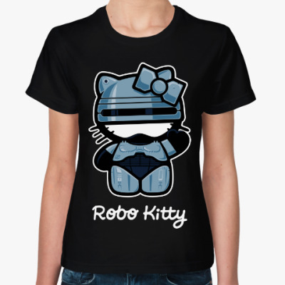 Женская футболка Робокоп