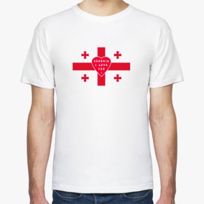 Футболка 'Love on the cross'