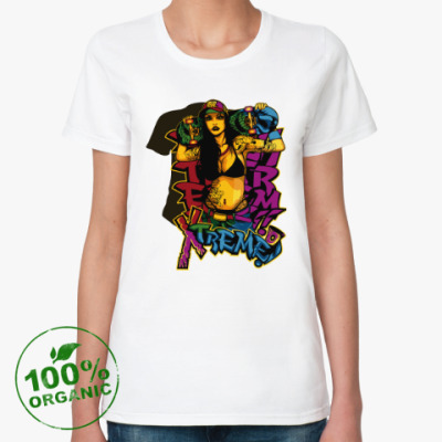 Женская футболка из органик-хлопка Girl