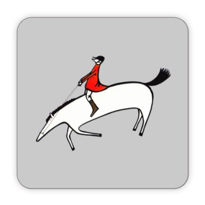 Костер (подставка под кружку) Horse rider