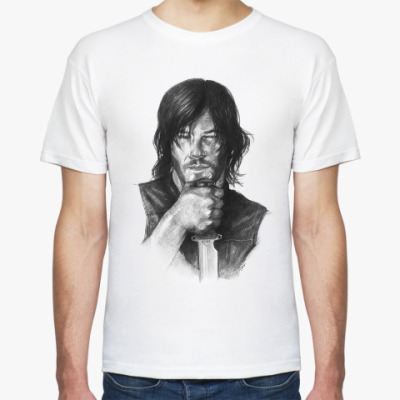 Футболка Дерил Диксон Daryl Dixon The Walking Dead
