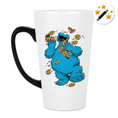 Кружка-хамелеон Cookie Monster