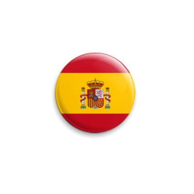 Значок 25мм Испания, Spain
