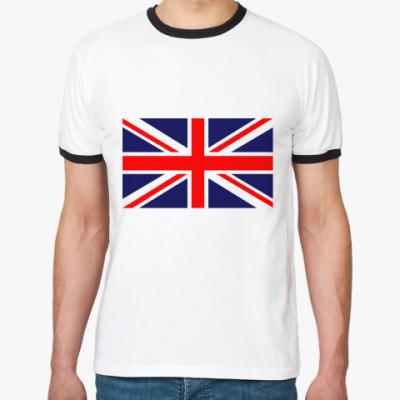 Футболка Ringer-T British