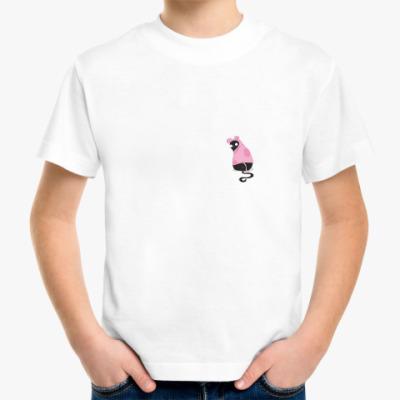 Детская футболка Кот в костюме