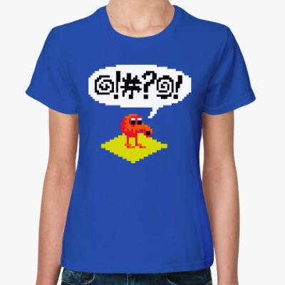 Женская футболка Q*bert