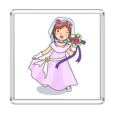 Магнит Невеста