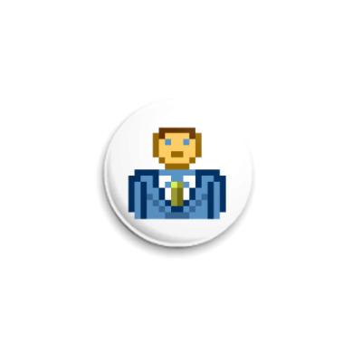 Значок 25мм  ICQ Статус #11