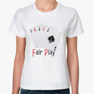 Классическая футболка Poker