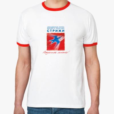 Футболка Ringer-T   МиГ-29 Стрижи