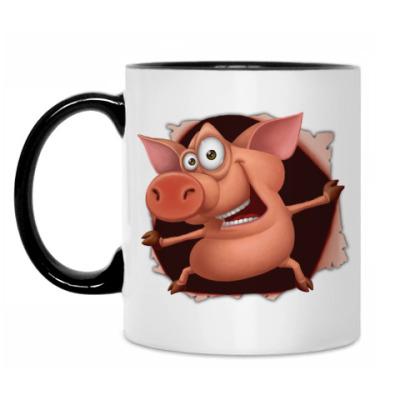 Кружка Внезапный Свин!