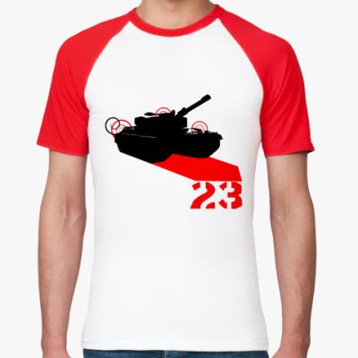 Футболка реглан Tank 23