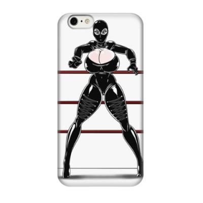 Чехол для iPhone 6/6s 'Рестлерша WWE'