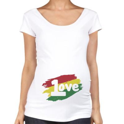 Футболка для беременных 1 Love