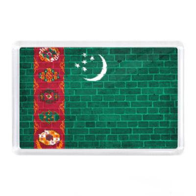 Магнит Флаг Туркмении