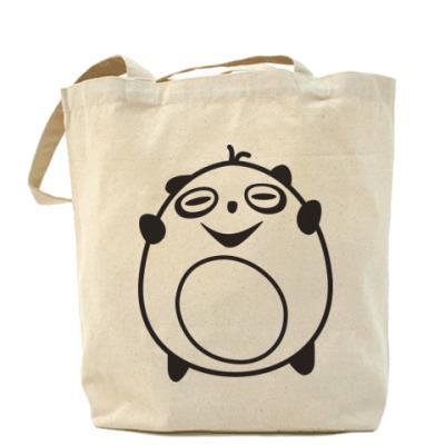 Сумка Холщовая сумка с пандой