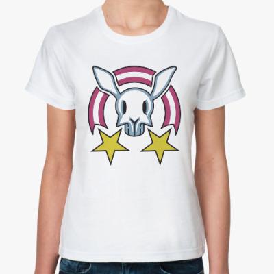 Классическая футболка Звездный заяц