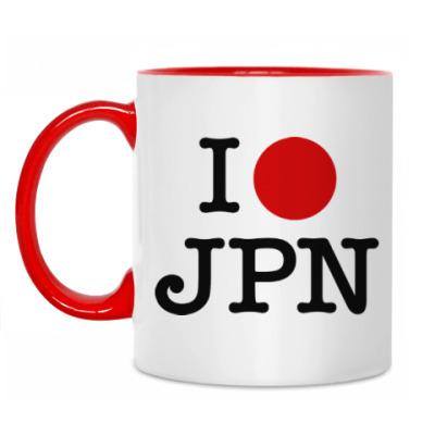 Кружка I love Japan