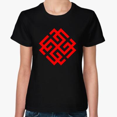 Женская футболка Сварожич