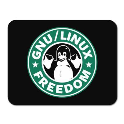 Коврик для мыши GNU Linux Freedom