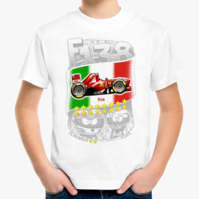 Детская футболка F138