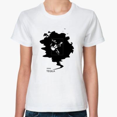 Классическая футболка Drink Teqila