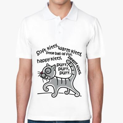 Рубашка поло Песня Шелдона и Пенни