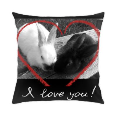 Подушка Зайцы-кролики