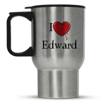 Кружка-термос I love Edward