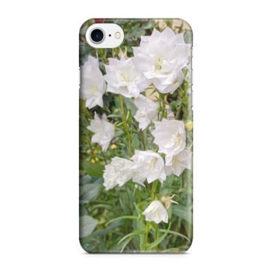 Чехол для iPhone 7/8 Белоснежные колокольчики